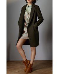 Vilshenko - Green Zoey Shirt Mini Dress - Lyst
