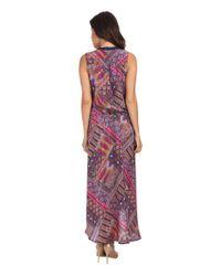 Tolani   Purple Lydia High-low Dress   Lyst