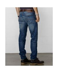 Denim & Supply Ralph Lauren - Blue Slim Fit Tuscan Tapered Jeans for Men - Lyst