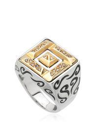 Marco Ta Moko - Metallic Ara Gold & Sterling Silver Ring - Lyst