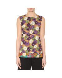 Marni - Multicolor Printed Cotton Top - Lyst