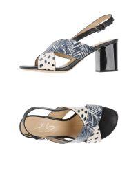 Lola Cruz - Blue Sandals - Lyst
