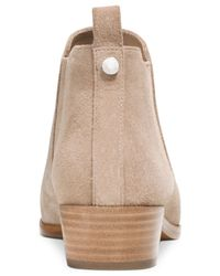 Michael Kors | Natural Michael Shaw Ankle Booties | Lyst