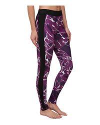 PUMA | Purple Printed Leggings | Lyst