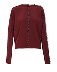 Dorothee Schumacher | Red Trim Detailing Blouse | Lyst