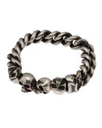 Werkstatt:münchen | Metallic Curb Chain Bracelet for Men | Lyst