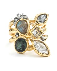 Alexis Bittar - Metallic Confetti Charm Cocktail Ring You Might Also Like - Lyst