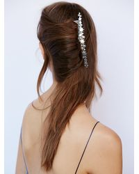 Free People | Metallic Long Nights French Comb | Lyst
