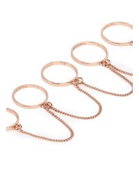 Eddie Borgo | Pink Five-finger Ring | Lyst