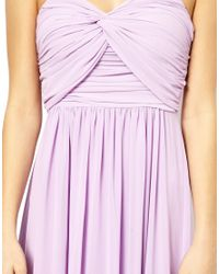 Jarlo - Purple Maxi Dress - Lyst