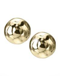 Ippolita   Metallic Mini Gold Stud Earrings   Lyst