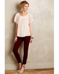 Maeve | Pink Keme Dotted Tee | Lyst