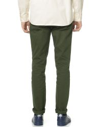 Norse Projects | Green Aros Heavy Chinos for Men | Lyst