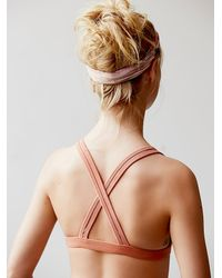 Free People - Pink South Beach Bra - Lyst