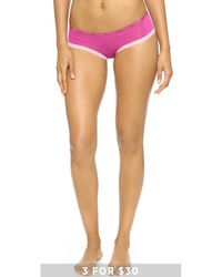 Calvin Klein | Pink Bottoms Up Hipster - Steel Grey | Lyst