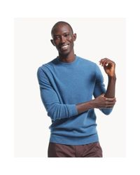 Theory - Blue Vetel Sweater In Cashmere for Men - Lyst