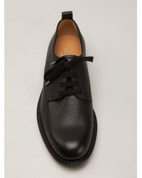Valentino - Black Chunky Derby Shoes for Men - Lyst