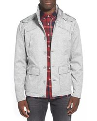 Kane & Unke | Gray Lightweight Field Jacket for Men | Lyst