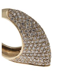 House of Waris - Brown 'Thorn' Ring - Lyst
