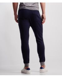 Aéropostale | Blue Single Stripe Jogger Sweatpants | Lyst