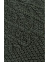 Akira Black Label - Green Fleece Lined Hat - Olive - Lyst