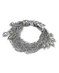 John Hardy | Metallic Naga Multi Row Bracelet | Lyst