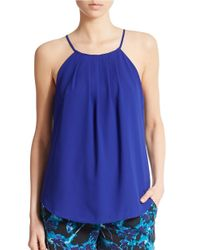 Sanctuary | Blue Halter Tank | Lyst