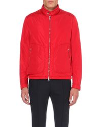 Moncler | Red Lightweight Shell Jacket for Men | Lyst