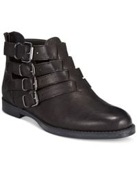 Bella Vita | Black Ronan Booties | Lyst