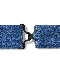 Charvet | Blue Silk-Jacquard Bow Tie for Men | Lyst