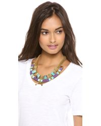 Holst + Lee - Blue Holst Lee Somewhere in The Indian Ocean Necklace - Lyst