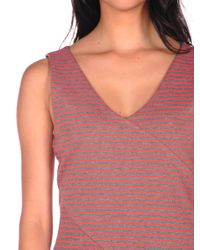 Jack BB Dakota   Orange Corina Stripe Dress   Lyst