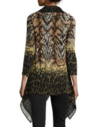 Berek - Yellow Wild Voyage Dramatic Jacket - Lyst