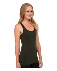 Beyond Yoga | Green Open Racerback Crisscross | Lyst