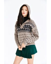 BDG - Black By The Fire Sweater - Lyst