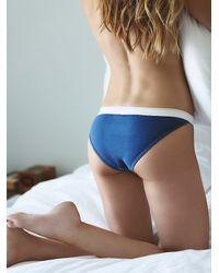 Free People | Blue Lou Bikini Brief | Lyst