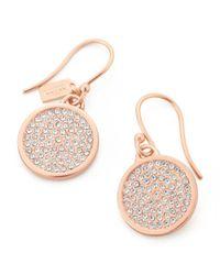 COACH - Pink Earrings - Lyst