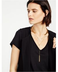 BaubleBar - Metallic Olympus Layered Collar - Lyst