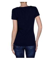 Napapijri | Blue Short Sleeve T-shirt | Lyst