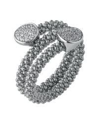 Links of London | Metallic Star Dust Silver Round Wrap Ring | Lyst
