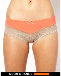 Marie Meili - Orange Jerrica Hipster Brief - Lyst