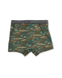 Patagonia | Green Cap Daily Boxer Briefs for Men | Lyst