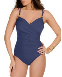 Miraclesuit | Blue New Sensations Captiva One-Piece Swimsuit | Lyst