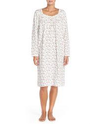 Eileen West - Natural 'grecian Garden' Nightgown - Lyst