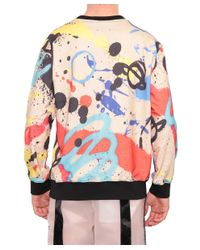 KTZ - Multicolor Graffiti Cotton Sweatshirt for Men - Lyst