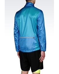 EA7 - Blue Ventus7 Line Windbreaker for Men - Lyst