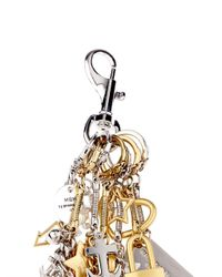 Marc By Marc Jacobs - Metallic Multi-Charm Key Ring - Lyst