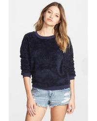 Volcom - Blue 'Cozy Bear' Pullover - Lyst