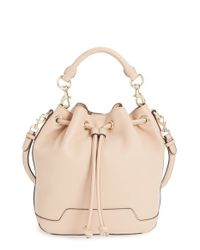 Rebecca Minkoff | Natural Fiona Leather Bucket Bag | Lyst