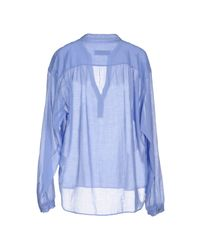 Mauro Grifoni - Blue Blouse - Lyst